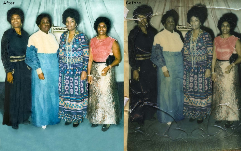 Group Photo Restoration