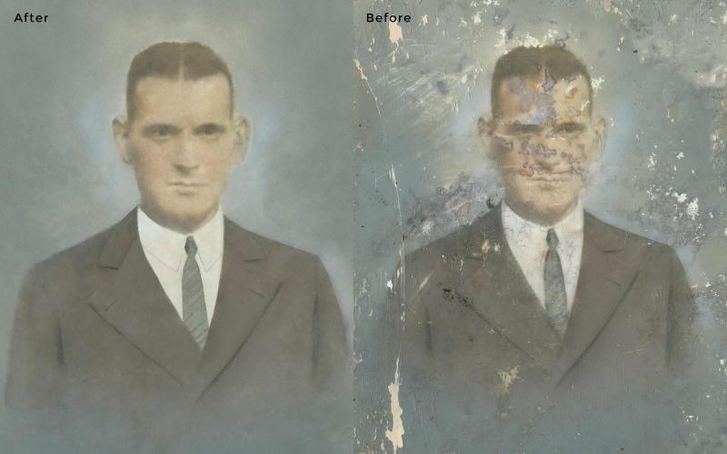 Man Photo Restoration