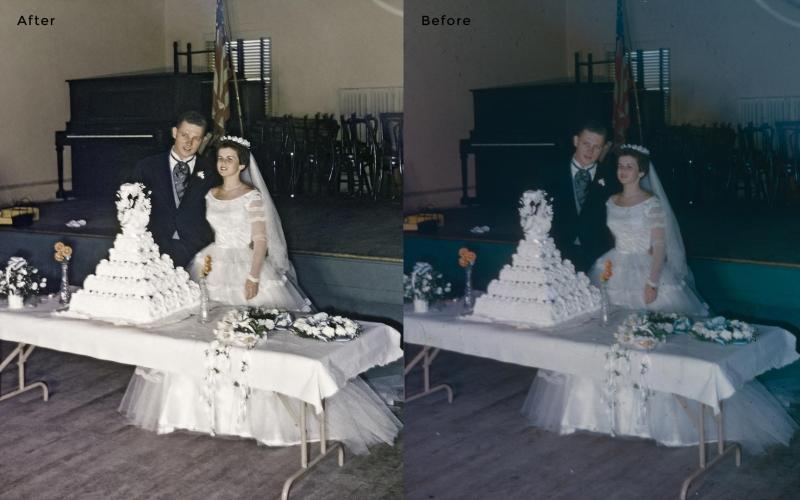 Wedding Photo Restoration