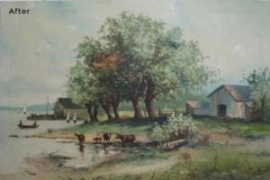 Landscape Painting Restoration